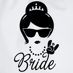 Bride Wedding Marriage Stag do Hen night party Hoodies & Sweatshirts - Drawstring Bag