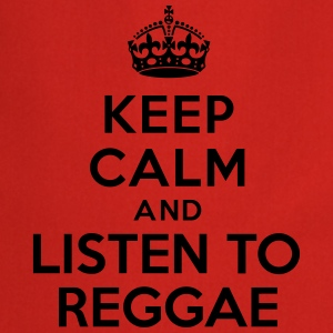 Keep calm and listen to Reggae Tee shirts - Tablier de cuisine