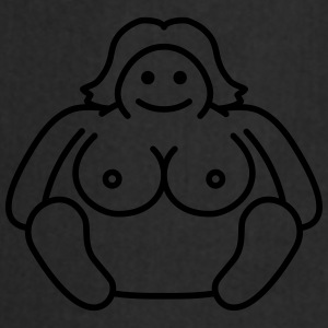 Naked Fat Woman T-shirts - Förkläde