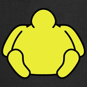 Sitting Fat Man T-shirts - Keukenschort