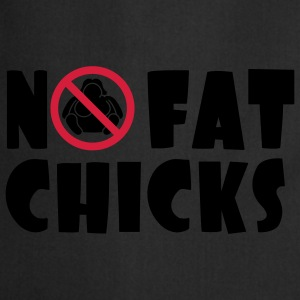 No Fat Chicks Koszulki - Fartuch kuchenny