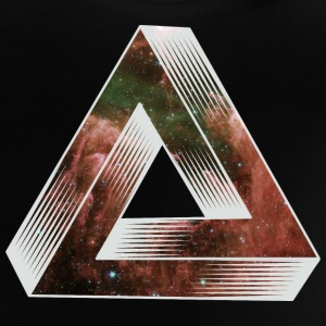 Cosmic Impossible Triangle Shirts - Baby T-Shirt
