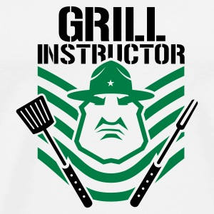 Grill Instructor - T-shirt Premium Homme
