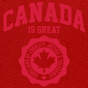 KANADA, CANADA IS GREAT Pullover & Hoodies - Snapback Cap