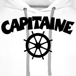 Capitaine T-Shirt - Sweat-shirt à capuche Premium pour hommes