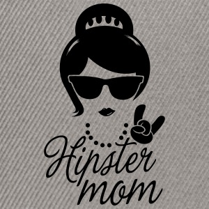 Like a i love hipster mother mom mother's day Tee shirts - Casquette snapback