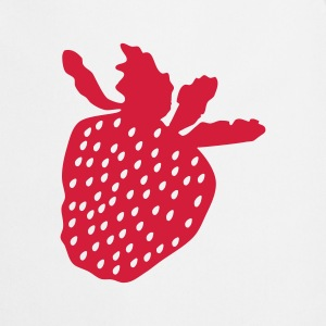 erdbeere,strawberry,Jordbær,  Sweatshirts - Forklæde