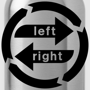 Right-left weakness  T-Shirts - Water Bottle