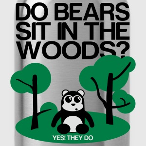Do bears sit in the woods? yes they do Hoodies & Sweatshirts - Water Bottle