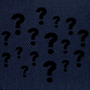 Question Marks T-Shirts - Snapback Cap