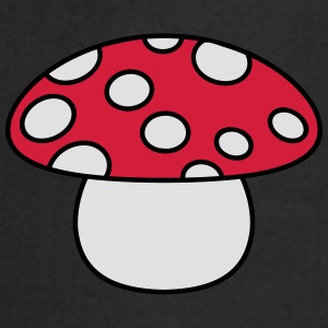 Little Mushroom Camisetas - Delantal de cocina