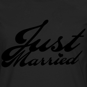 Just married - T-shirt manches longues Premium Homme