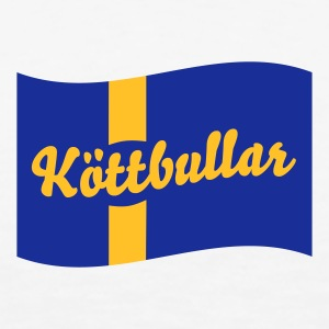 Sweden Flag Köttbullar Hoodies & Sweatshirts - Men's Premium T-Shirt