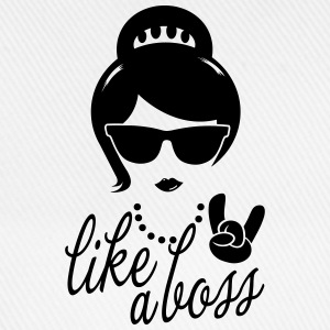Like a i love strong hipster female boss woman Shirts - Baseball Cap