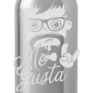 Like a cool geek me gusta story meme boss hipster T-Shirts - Water Bottle