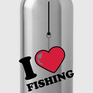 I Love Fishing T-shirts - Drikkeflaske