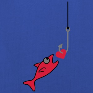Fishing With Heart Camisetas - Sudadera con capucha premium niño