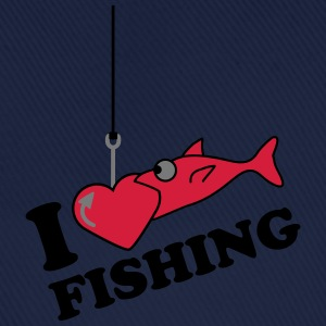 Fishing Love T-skjorter - Baseballcap