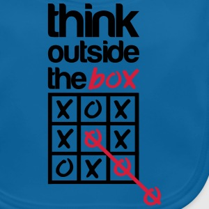 Think outside the box Shirts - Baby Organic Bib