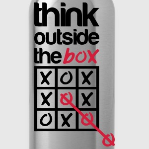 Think outside the box T-Shirts - Trinkflasche