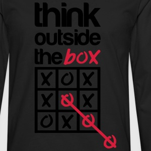 Think outside the box T-skjorter - Premium langermet T-skjorte for menn