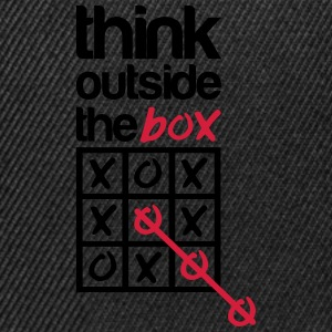 Think outside the box T-skjorter - Snapback-caps