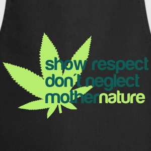 show respect dont neglect mother nature Koszulki - Fartuch kuchenny