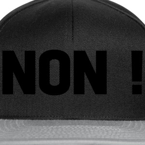 non Tee shirts - Casquette snapback