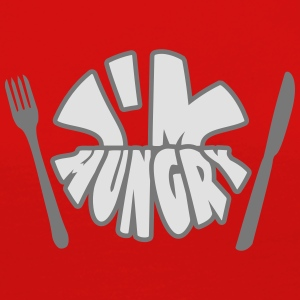Im Hungry Tee shirts - T-shirt manches longues Premium Femme