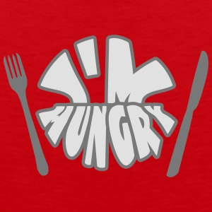 Im Hungry T-Shirts - Men's Premium Tank Top