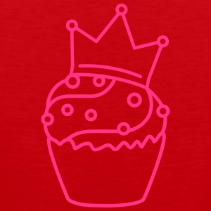 Cupcake Princess T-Shirts - Men's Premium Tank Top