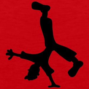 Breakdancer T-Shirts - Men's Premium Tank Top