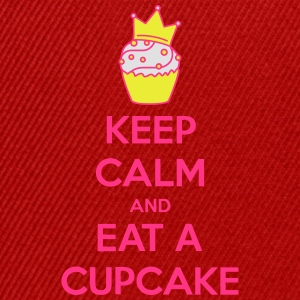 Keep Calm Cupcake T-shirts - Snapback Cap