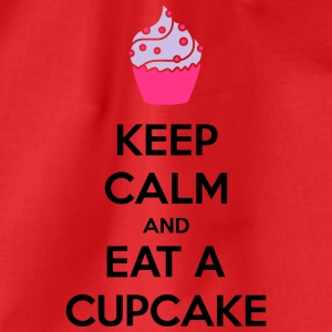 Keep Calm And Eat A Cupcake T-Shirts - Drawstring Bag