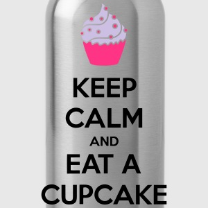 Keep Calm And Eat A Cupcake T-skjorter - Drikkeflaske