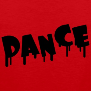 Dance T-shirts - Mannen Premium tank top