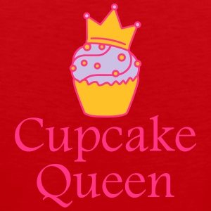 Cupcake Queen T-Shirts - Men's Premium Tank Top