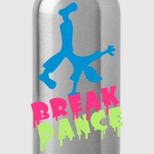 Break Dance Magliette - Borraccia