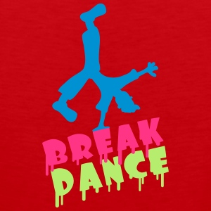 Break Dance Camisetas - Tank top premium hombre