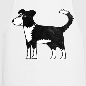 Border Collie Dog T-Shirts - Cooking Apron