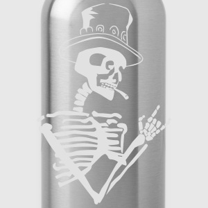 skeleton rock T-Shirts - Water Bottle