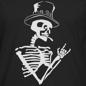 skeleton rock T-Shirts - Men's Premium Longsleeve Shirt