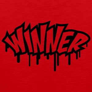 Winner Graffiti Camisetas - Tank top premium hombre