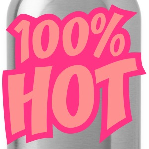 100 Procent Hot T-Shirts - Water Bottle