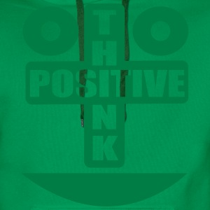 think positive T-Shirts - Men's Premium Hoodie