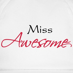 Miss Awesome T-Shirts - Baseball Cap