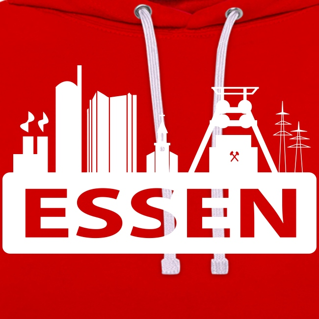 Skyline Essen - T-Shirt