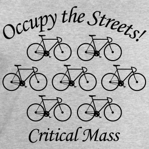 Critical Mass: Occupy the Streets! T-Shirts - Männer Sweatshirt von Stanley & Stella