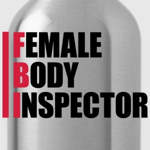 Female Body Inspector Camisetas - Cantimplora