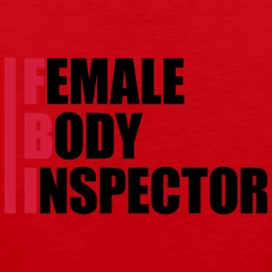 Female Body Inspector T-shirts - Mannen Premium tank top